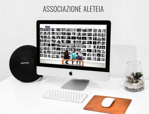 Sito web per l'Associazione Aleteia
